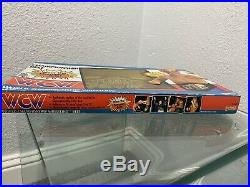 1991 Galoob WCW Championship Belt Sting MOC ULTRA RARE Mattel Hasbro LJN WWF WWE