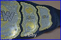 AEW World Championship Wrestling Replica Leather Belt