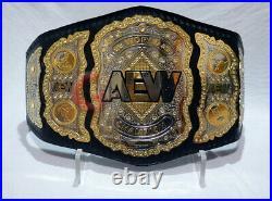 AEW World Heavyweight Wrestling Championship Belt 2mm Plates(Replica)