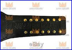 AEW World Heavyweight Wrestling Championship Belt Adult Size 4MM Zinc Metal