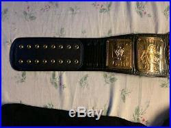 ATTITUDE ERA WWE WORLD CHAMPIONSHIP 4 MM METAL ADULT SIZE REPLICA TITLE BELT wwf