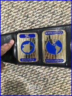 Adult Wwe Black Intercontinental Championship Belt Replica