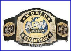 Aew World Tag Team Wrestling Championship Belt Replica Adult Size