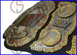 All Elite Wrestling Aew Wrestling Championship Belt 2mm Zinc Adult Size