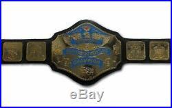 American Heavyweight Wrestling Title Replica Championship Belt Brass Metal 4mm