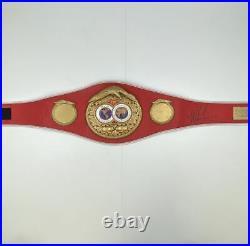Autographed/Signed MIKE TYSON IBF Boxing Replica Championship Belt Hologram COA