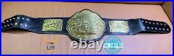 BIG GOLD World Heavyweight Championship Replica Tittle Belt Adult 2MM BrassPlate