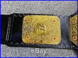 BIG GOLD world heavyweight Wrestling Championship Belt Adult size (2mm brass)