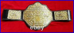 BIG Gold 4mm world heavyweight championship belt high quality replica