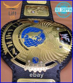 Big Eagle Attitude Era Championship Replica Tittle Belt ADULT Size Brass 2MM