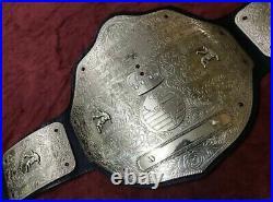 Big Gold World Heavyweight Championship Wrestling Belt Adult Size Replica Belt