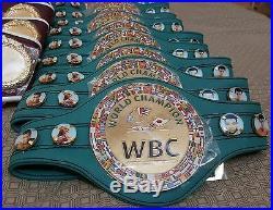 Boxing Mini Championship replica belts