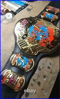 Championship belt RELEATHER SERVICES please read description