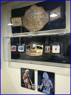Crumrine Big Gold World Championship Wrestling Belt Wcw Nwa Wwe