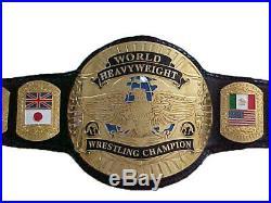 Custom World Championship Heavyweight wrestling title replica championship belt