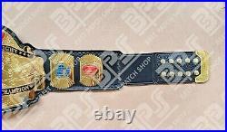 Custom World Heavyweight Wrestling Championship Belt