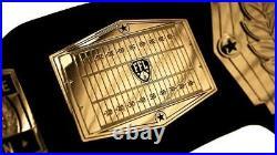 Customizable Fantasy Football Championship Belt Gold