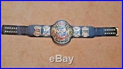 ECW WORLD HEAVYWEIGHT WRESTLING CHAMPIONSHIP BELT. ADULT SIZE (2mm plates)