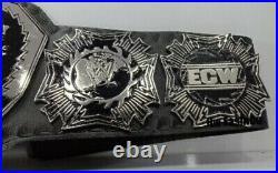 ECW WORLD HEAVYWEIGHT WRESTLING CHAMPIONSHIP Title BELT. Replica Adult Size