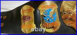 ECW World Heavyweight Championship Wrestling Replica Title 2mm Figs Inc. 1999
