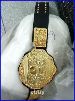 Fandu Belts Big Gold Heavyweight Championship Wrestling Title Belt hnjjn