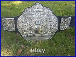 Fandu Big Silver Championship Belt