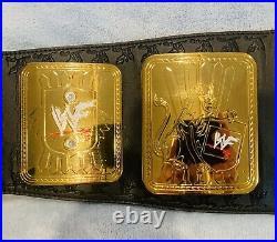 Figures Toy Co Wwf Attitude Era Big Eagle Championship Wrestling Replica Belt