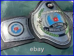 GTS Youtube Show Used Intercontinental Championship Wrestling Belt NOT REPLICA