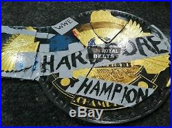 Hardcore Heavyweight Championship Title Genuine Leather Belt