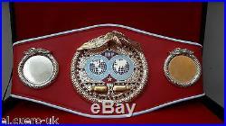 IBF Boxing Champion Ship Belt WORLD champion. Adult size