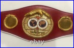 IBF Boxing Championship Replica Belt Adult Size World Boxing Council 3D
