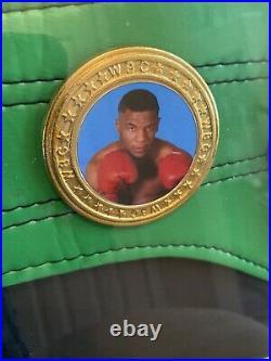 IRON MIKE TYSON autographed WBC championship belt with COA JSA