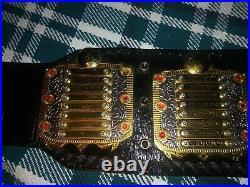 IWGP V3 Wrestling Championship Title Belt Real Leather Strap (WWE, WWF, NWA, AEW)