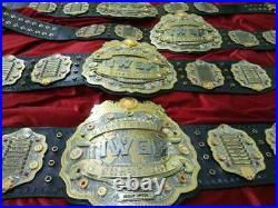 IWGP V4 HeavyWeight Championship Belt 4 Layer Zinc Plated 4mm Adult 6KG elkey
