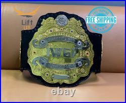 IWGP World Heavyweight Wrestling Championship V2 Replica Tittle Belt 2MM Brass