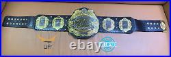 IWGP World Heavyweight Wrestling Championship V4 Replica Tittle Belt 2MM Brass