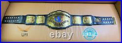 Intercontinental Block Heavyweight Championship Wrestling Leather Belt Black 2MM