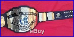 Intercontinental Classic Wwf Championship Replica Belt, 4mm Thick Brass Plates