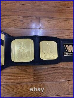 Intercontinental Heavyweight Wrestling Championship Belt 4mm Replica