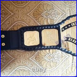 Intercontinental Heavyweight Wrestling Championship Belt. Adult Size 2mm bras