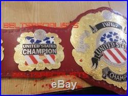 Iwgp United States Championship Wrestling Belt Adult Size