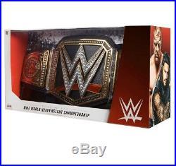 Jakks WWE CHAMPIONSHIP TITLE BELT ADULT Size New Sealed Adult Size