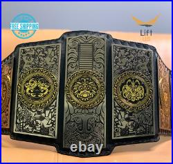 LUCHA Underground Gift of the God Championship Replica Title Belt 2MM Adult Size