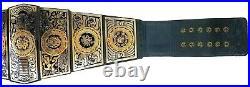 LUCHA Underground Gift of the God Championship Title Belt Premium Finish 4 mm