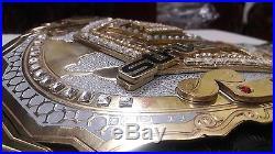 MMA UFC Rare Hand Made Strikeforce world Championship replica belt size 51 long