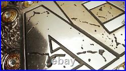 NEW AEW TITLE WORLD WRESTLING CHAMPIONSHIP BELT REPLICA BELT 2mm (BRASS) PLATES