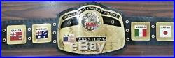NEW NWA WORLD Heavyweight Championship Wrestling TITLE Belt 4mm Gold Adult