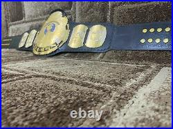 NEW WWF BIG Eagle DUAL PLATED Championship Belt Adult Size. 2mm