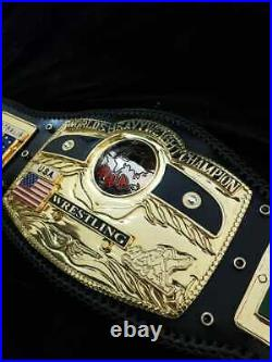 NWA DOME GLOBE WORLD HEAVYWEIGHT WRESTLING CHAMPIONSHIP BELT 4mm ZINC Title