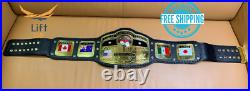 NWA Domed Globe World Heavyweight Wrestling Championship Replica Tittle Belt 2MM